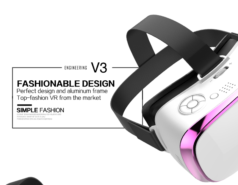 JSK-V3H Comfortable 3D VR Glasses Virtual Reality Goggles